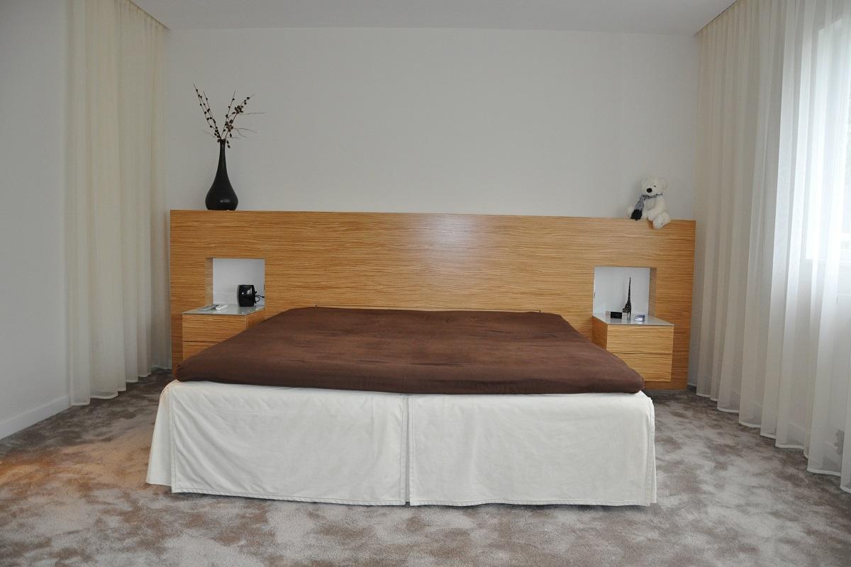 Maßgeschneidertes Bett